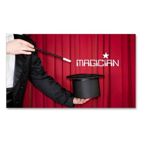 Magician Business Card Template by 197 Best Images About Magician Business Cards On