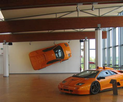 Lamborghini On Wall Countach Davepit