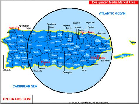 zip code map puerto rico truck ads 174 puerto rico designated market map a d m a p
