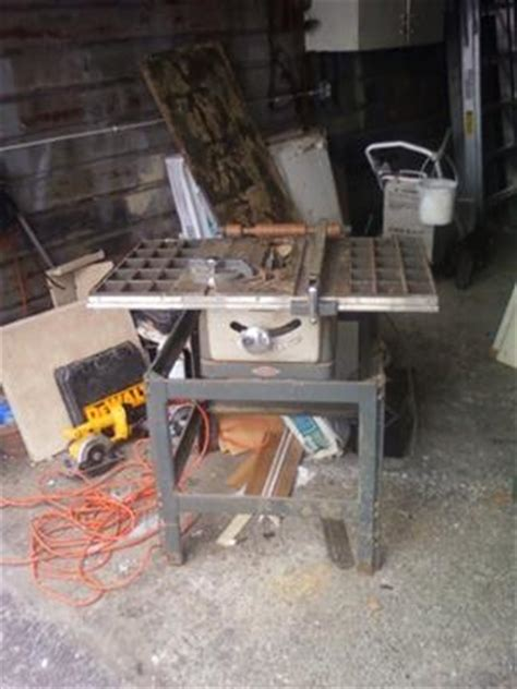 Craftsman King Seeley Model 8 Quot Table Saw
