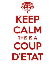 keep calm this is a d etat poster roscoe keep