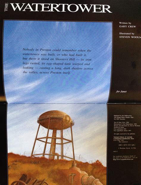 The Watertower Suspense And Belonging In A Small Town
