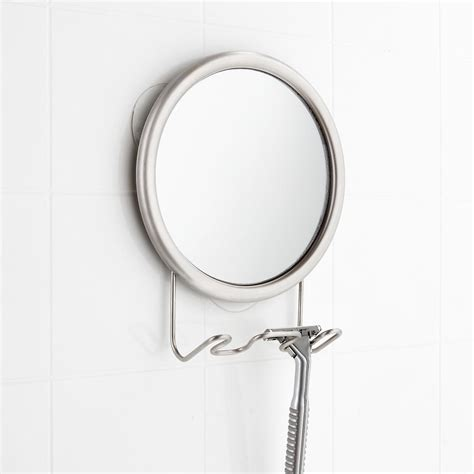 Fogless Mirror Stainless Fogless Suction Mirror The Suction Bathroom Mirror