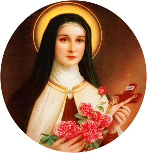 Theresa Flower pin st therese flower quotes on