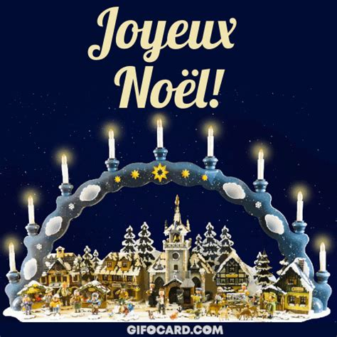 french merry christmas gif ecards   click  send