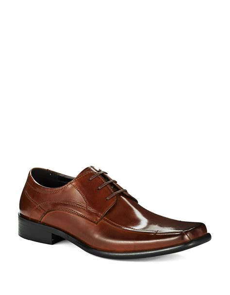 kenneth cole reaction all aboard dress shoes in brown for
