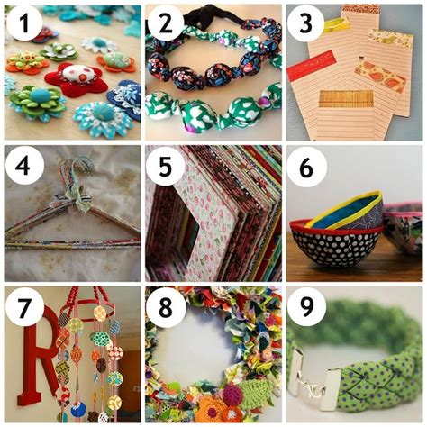 fabric crafts 38 best recycling crafts for images on