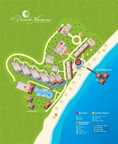 dorado resort map 35 best images about el dorado maroma trip on