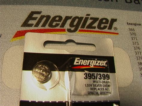 Baterai Kancing Button Cell Sr927sw 395 Original 5 five energizer 395 399 battery sr927sw ebay
