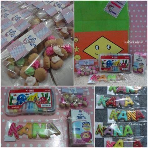 Kancing Hias Kayu Motif Kue Ulang Tahun kana s birthday the