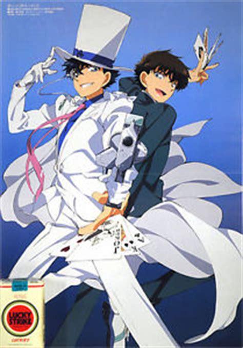 Set Kaito Kid Detective Conan 15cm promo poster magic kaito 1412 kaito kid kuroba closed detective conan ebay