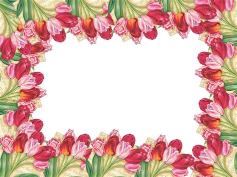 imagenes en png de flores 5 marcos de flores png distintos dise 241 os marcos gratis
