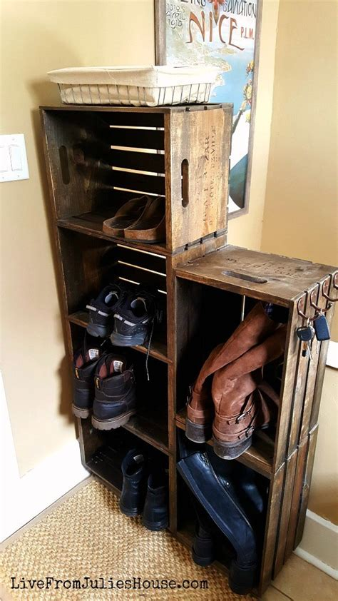 diy wood shoe rack 15 clever diy shoe storage ideas grillo designs