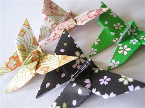 Handmade Butterflies - handmade paper butterfly japanese and plum blossom