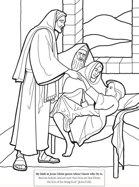 rich young ruler coloring page coloring home