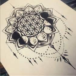 moon mandala tattoo moon mandala p i n t e r e s t airihouston