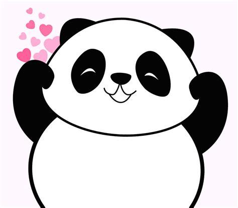 gambar panda kartun lucu harian nusantara