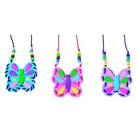 Pouch Buterfly butterfly pouch necklace