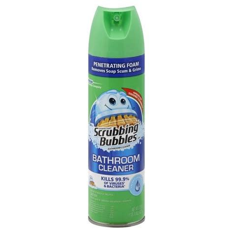 Scrubbing Bubbles Bathroom Foam Cleaner Disinfectant Fresh