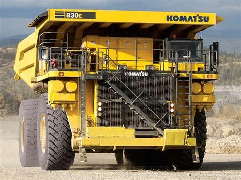 Ac Truk new komatsu 830e ac trucks for sale