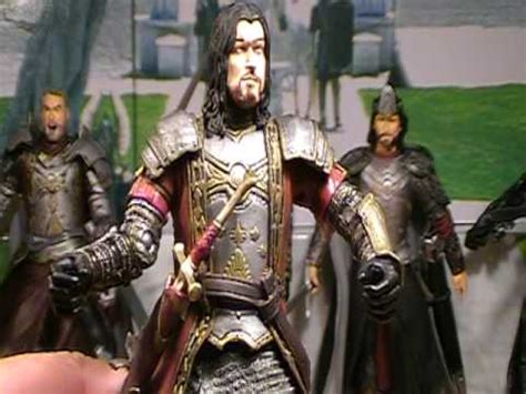 Toybiz Lord Of The Rings King Elendil Figure biz lord of the rings quot of middle earth quot gift set