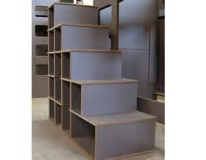 Fabriquer Un Escalier Avec Des Caissons by Lits Superpos 233 S David Avec Bureau En Bois Pour Les Enfants