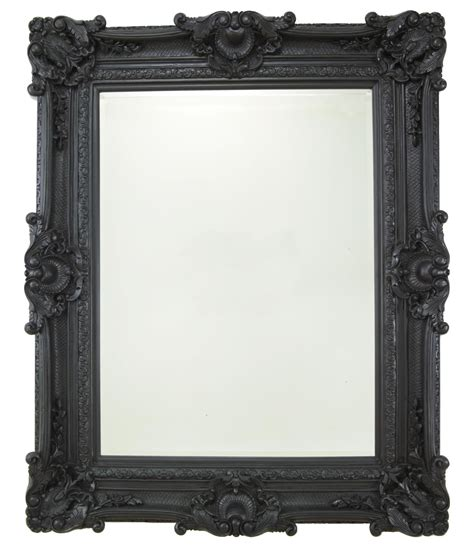 stone framed bathroom mirrors heritage chesham grand stone black polyurethane framed mirror