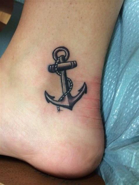 anchor tattoos on foot picture of sea anchor