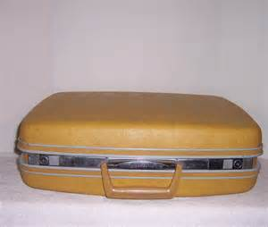 What Is A Good Brand Of Kitchen Knives triple a resale vintage samsonite yellow suitcase luggage