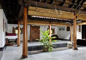 kerala home interiors interior design of daylight courtyard in kerala b