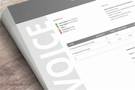 Best Invoice Templates Best Invoice Template