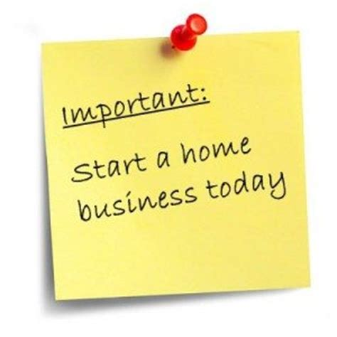 start business from home the home party business