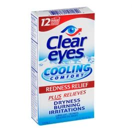 clear eyes cooling comfort eye drops clear eyes cooling comfort lubricant redness relief eye
