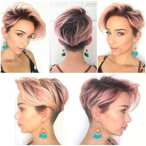 hairstylesforwomen shortcuts best 25 short hair undercut ideas on pinterest undercut