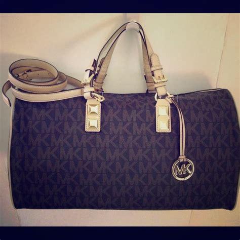 Purse Deal Gryson Mini Duffle Bag by Michael Kors Mk Grayson Weekender Duffle Bag From Jenn S