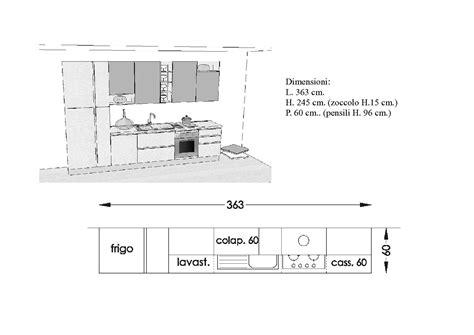 misure standard cucine componibili misure standard cucine componibili cool cucine