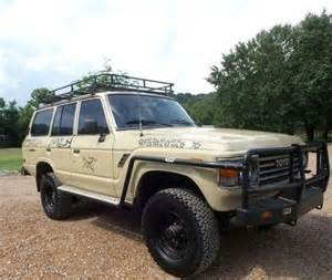 Toyota 4wd Toyota Land Cruiser Fj60 4wd Road Customized Suv