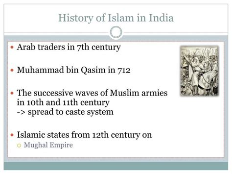 Outline History Of Indian by Ppt The Muslims In India Outline Powerpoint