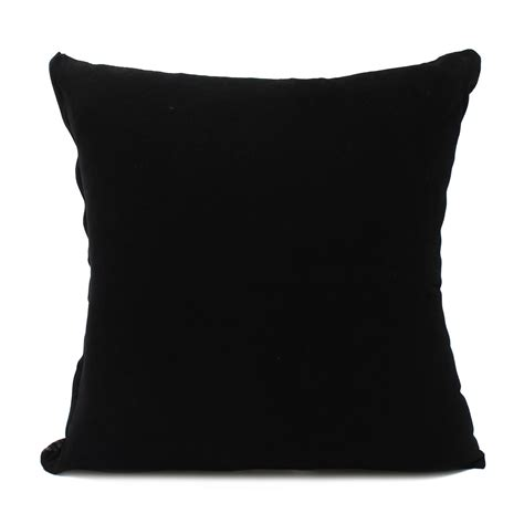 black sofa pillows 45 45cm retro style square black silver throw pillow case