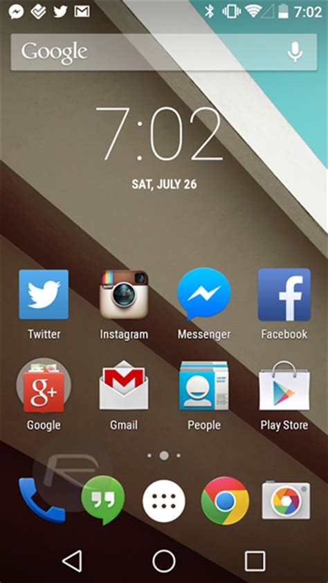 android layout half screen show us your phone s home screen setup redmond pie