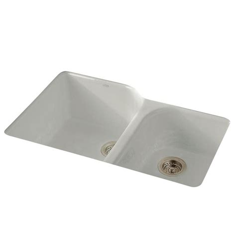 kohler executive chef sink kohler executive chef undermount cast iron 33 in 4