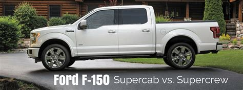 differance between supercab and crewcab on f150 truck ford f 150 supercab vs supercrew what s the difference