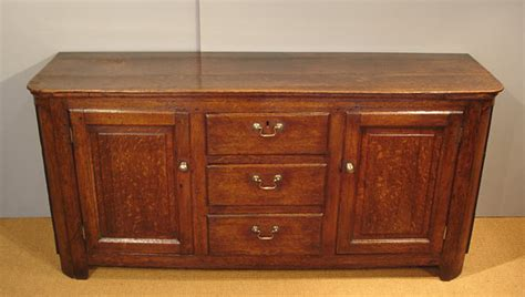 Georgian oak dresser / Antique oak sideboard : Antique