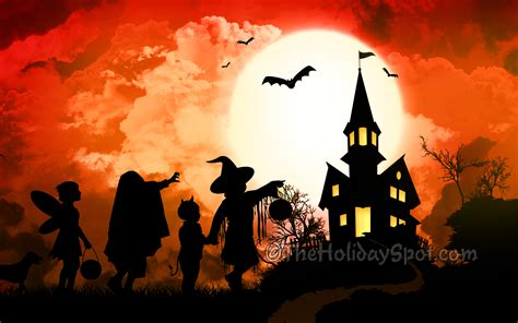 holloween backgrounds haunted