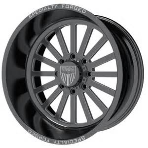 Truck Wheels 20x14 Specialty Forged Sf004 20x14 Black