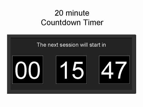 Countdown Timer For Ppt Free Powerpoint Countdown Timer Template