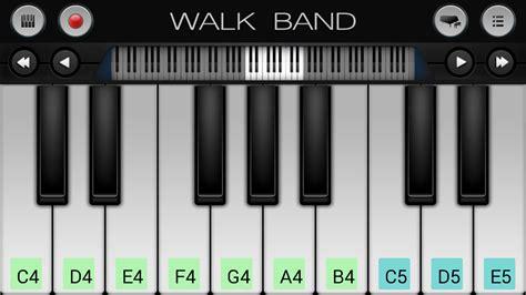 Keyboard Drumband walk band piano guitar drum screenshot