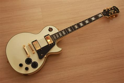my new epiphone les paul custom alpine white mylespaul crinson music and guitars epiphone les paul custom pro