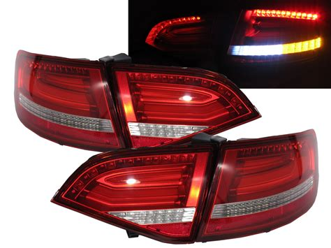 L Jazz Rs 2008 2011 Lh a4 s4 rs4 b8 8k avant 2008 2011 pre facelift led rear light rw for audi ebay