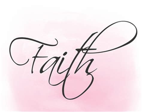 faith clipart faith word collage etsy